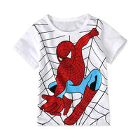 Spiderman short sleeve T-Shirts. - Adilsons