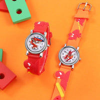 Spiderman silicone kids watches. - Adilsons