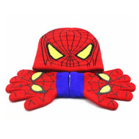 Spiderman warm set hat and gloves. - Adilsons