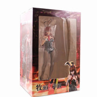 Steins Gate sexy Makise Kurisu black bunny PVC action figure. - Adilsons