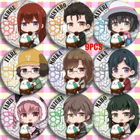 Steins Gate stylish and high-quality brooch. - Adilsons