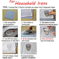 Stickers in the anime style of Uzumaki Naruto are transferred using an iron. - Adilsons