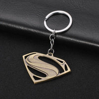 Superman 4 colors metal keychain. - Adilsons