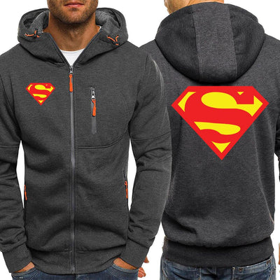 Superman autumn hoodies. - Adilsons