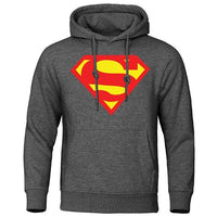 Superman autumn-winter hoodies. - Adilsons