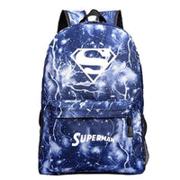 Superman beautiful backpack. - Adilsons