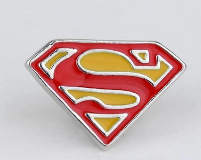Superman brooch pins 20pcs/lot. - Adilsons