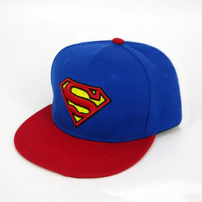 Superman fashion snapback hat. - Adilsons