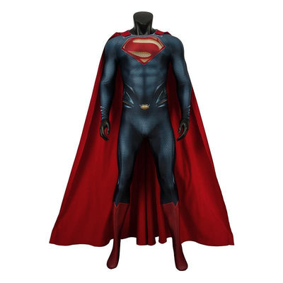 Superman jumpsuit cloak costume. - Adilsons