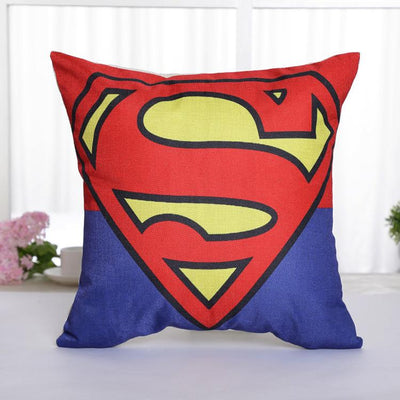 Superman linen 45*45cm pillow case. - Adilsons
