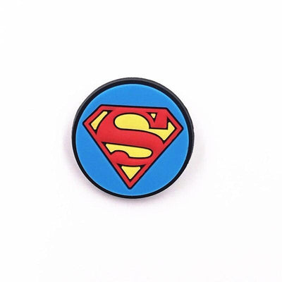 Superman silicone brooch 1PCS. - Adilsons