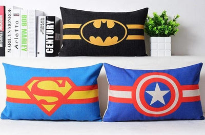 Superman soft pillow case. - Adilsons