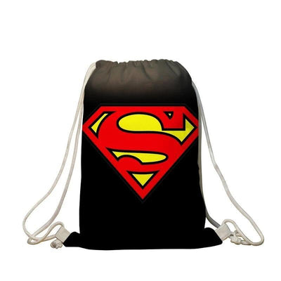 Superman stylish backpack. - Adilsons