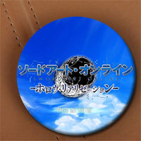 Sword Art Online brooch for clothes hat backpack. - Adilsons