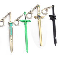 Sword Art Online keychains. - Adilsons