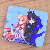 Sword Art Online Tokisaki Kurumi colorful wallet. - Adilsons