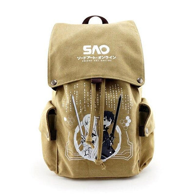 Sword Art Online travel, school backpack. - Adilsons