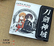 Sword Art Online wallet with button. - Adilsons