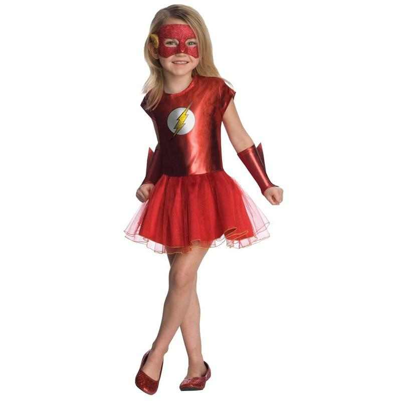 The Flash dress costume. - Adilsons