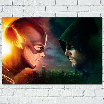 The Flash poster for home room decor. - Adilsons