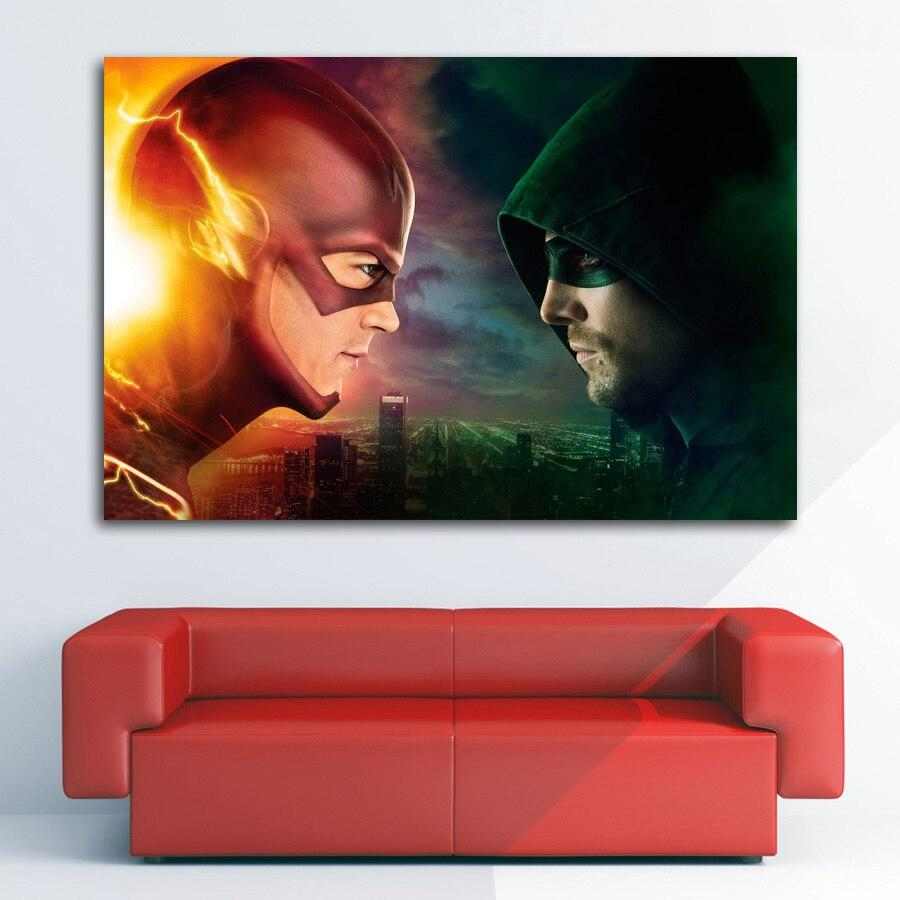 The Flash Poster For Home Room Decor Adilsons