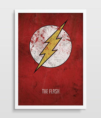 The Flash poster wall art. - Adilsons