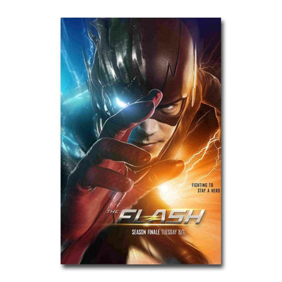 The Flash silk poster room decor. - Adilsons