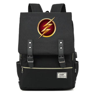 The Flash USB port backpack. - Adilsons