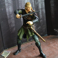 The Lord of Rings Legolas with sword action figure. - Adilsons