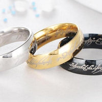 The Lord Of The Rings jewelry accessories rings. - Adilsons