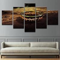The Lord Of The Rings modular art wall picture. - Adilsons