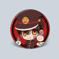 Toilet Bound Hanako Kun stylish brooch. - Adilsons