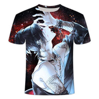 Tokyo Ghoul 3D casual T-shirt. - Adilsons