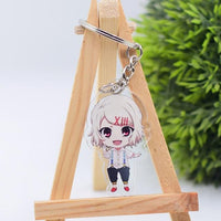 Tokyo Ghoul double sided keychain. - Adilsons
