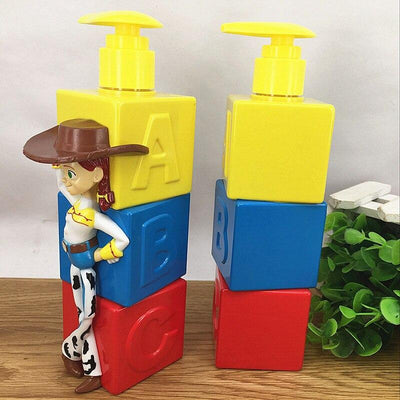 Toy Story bottle for liquid soap in the form of figures. - Adilsons