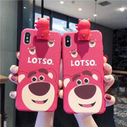 Toy Story strawberry bear phone case for iPhone. - Adilsons