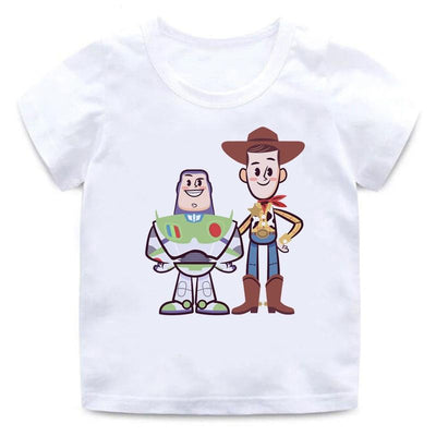Toy Story summer children's T-Shirt. - Adilsons