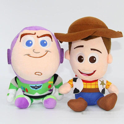 Toy Story Woody and Buzz plush toy. - Adilsons