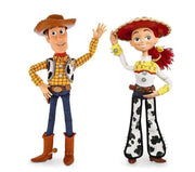 Toy Story Woody and Jessie action figures. - Adilsons