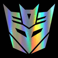 Transformer vinyl car sticker. - Adilsons
