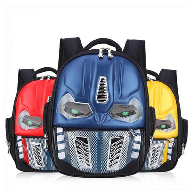 Transformers 3D robot backpack. - Adilsons