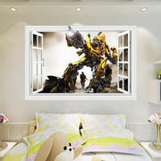 Transformers 3D window wall sticker. - Adilsons