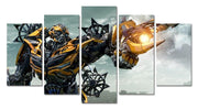 Transformers 5 pieces wall picture. - Adilsons