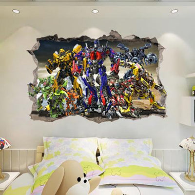 Transformers high-quality wall stickers. - Adilsons