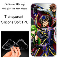 Code Geass Lelouch Hot soft silicone case for Xiaomi Redmi.