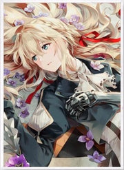 Violet Evergarden Diamond Painting - Adilsons