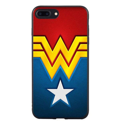 Wonder Woman bright phone case for iPhone. - Adilsons