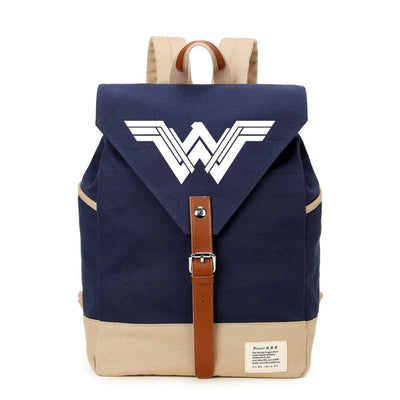 Wonder Woman casual backpack. - Adilsons