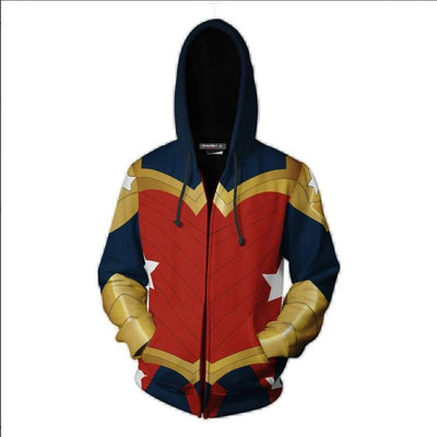Wonder Woman casual hoodies. - Adilsons