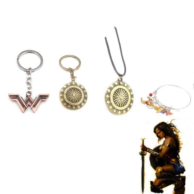 Wonder Woman costume accessories. - Adilsons